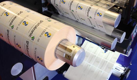 铜版纸不干胶标签印刷