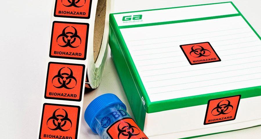医疗废物标签