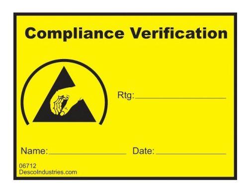 06712防静电控制标识