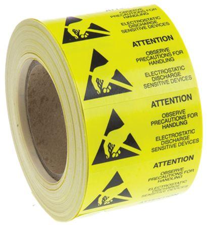 静电释放警告标签