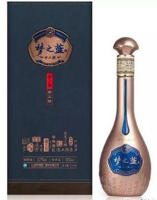 """洋河""""梦之蓝·酒包装"""