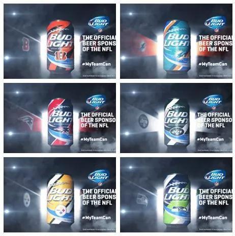 Bud Light超级碗系列包装