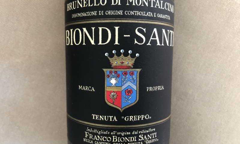 意大利葡萄酒标签