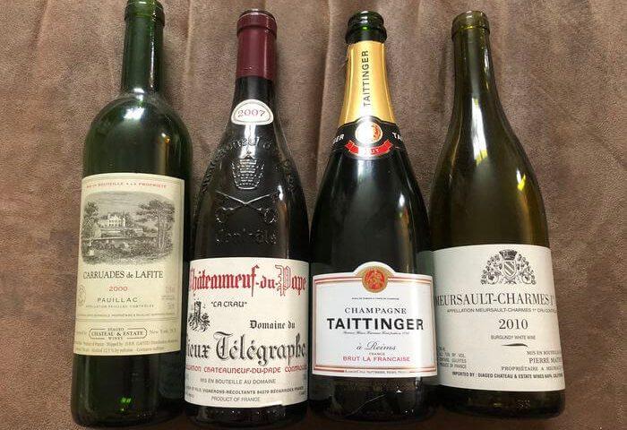 法国葡萄酒标签